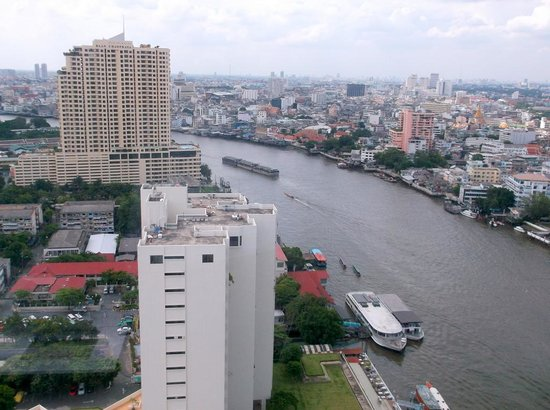 Millennium Hilton Bangkok: view