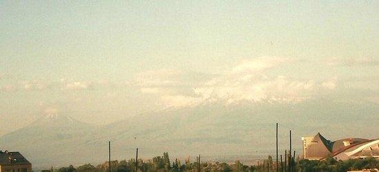 Hostel Glide : Blick auf Mt.Ararat