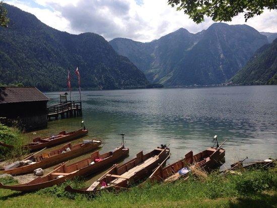 Bad Goisern, Österrike: Plätten