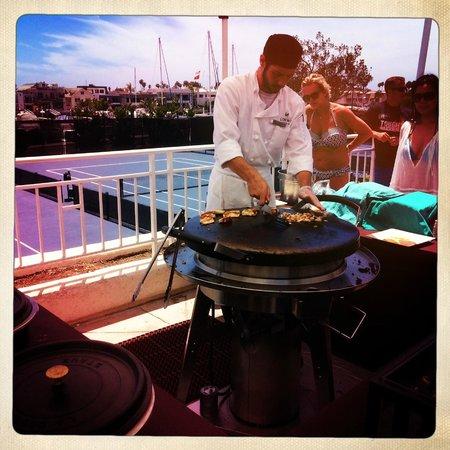 Loews Coronado Bay Resort: Fresh tacos mad pool side Friday, Saturday & Sunday