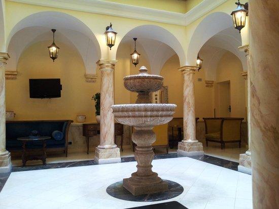 Grand Hotel Britannia Excelsior: Hall Wi-Fi