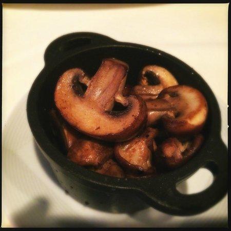 Loews Coronado Bay Resort: Forest Mushrooms with sake soy & trufle oil