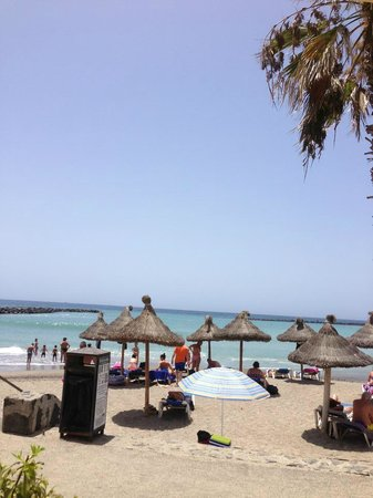 Mediterranean Palace Hotel: the cove beach outside hotel