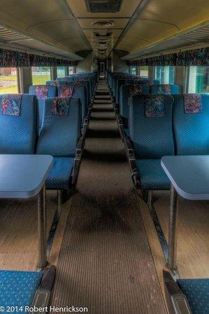 West Coast Railway Heritage Park: Inside a BC Rail Coach