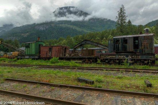 West Coast Railway Heritage Park : Unrestored Vintage Rail cars