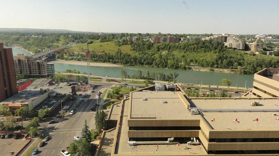 Delta Hotels by Marriott Calgary Downtown : View from room