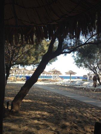 Agrari Beach: Vista dal bar
