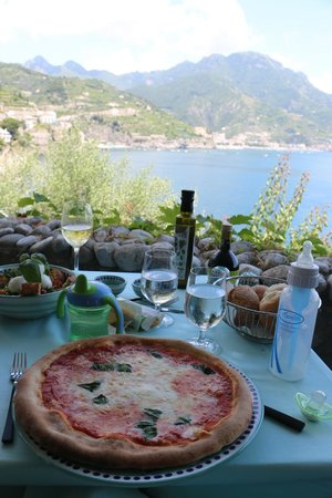 Palazzo Avino: lunch at the private beach