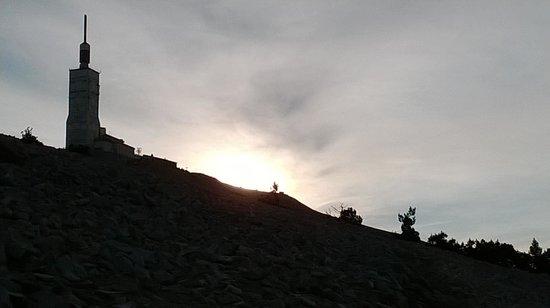 Mont Ventoux : Mont-Ventoux au petit matin