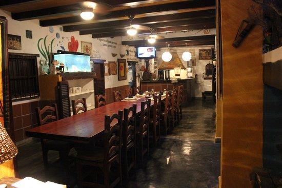 Posada Lagunita: sala pranzo