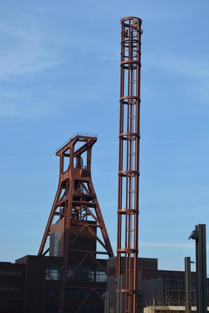 Zeche Zollverein Essen: Torre de extracción de carbón