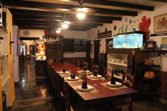 Posada Lagunita: vista sulla sala pranzo