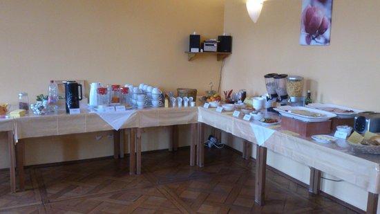 Villa Seraphinum Hotel: Frühstücksbuffet