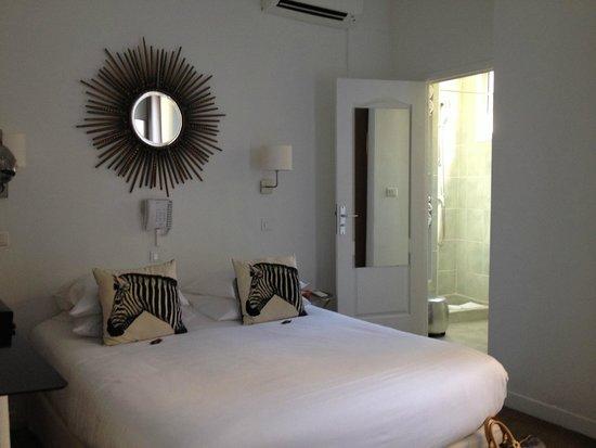 Hotel Colette: バスタブ無しの部屋