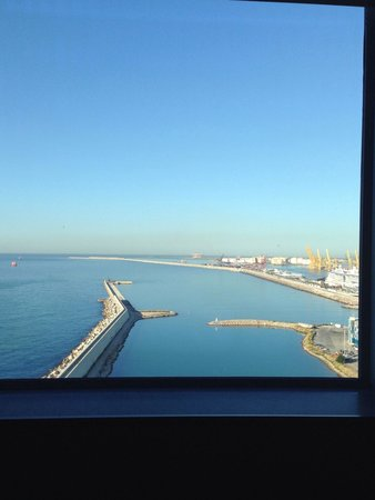 W Barcelona : Beautiful serene view from our room