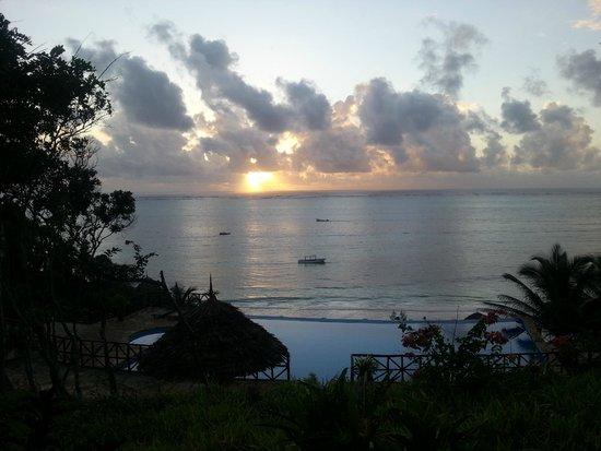 Ras Michamvi Beach Resort : Utrolig solopgang
