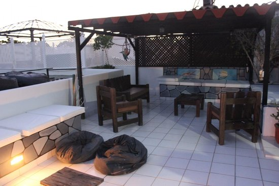 Posada Lagunita: terrazzo