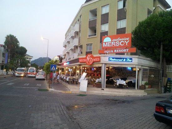 Mersoy Exclusive Aqua Resort: Отель Мерсой.Главный вход