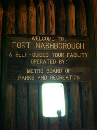 Fort Nashborough: Welcome