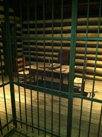 Fort Nashborough: inside