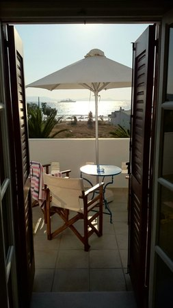 "Villa Naxia Studios-Apartments: View from room ""Naxos"""