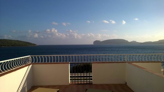 El Faro Hotel: Vue de la Suite Junior