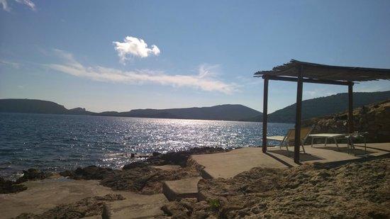 El Faro Hotel: Paillasses en bord de mer