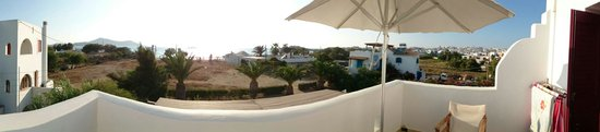 Villa Naxia Studios-Apartments: Panoramic view from room Naxos