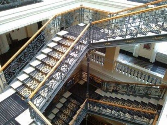 Hotel am Sophienpark: Staircase : Luxury feeling