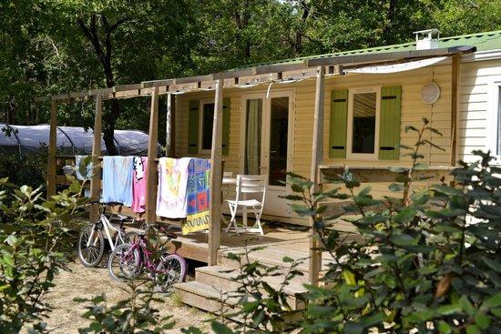 Camping Les Lacs : Mobil-Home