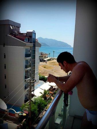 Blue Bay Platinum Hotel: Балкон