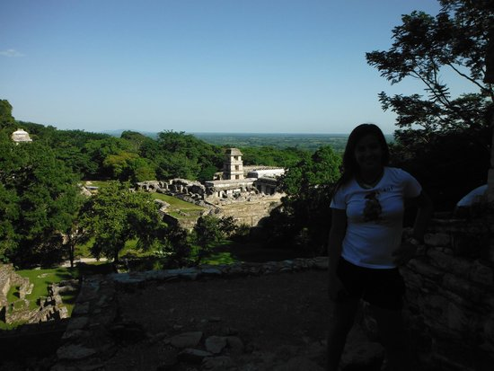 National Park of Palenque: ruinas