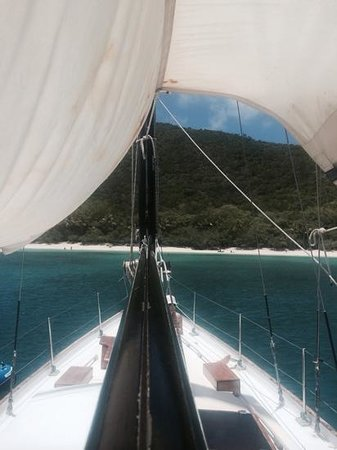Morningstar Sailing and Power Charters : Sailing with Morningstar