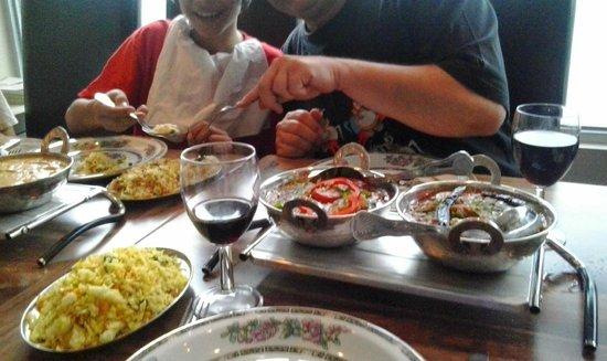 Henbury Balti House: Main dishes