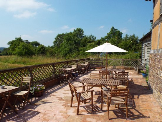The Cider Barn: The Terrace - Perfect For A Summer's Lunch