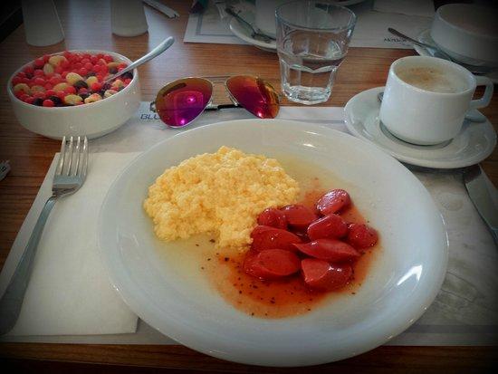 Blue Bay Platinum Hotel: Мой завтрак