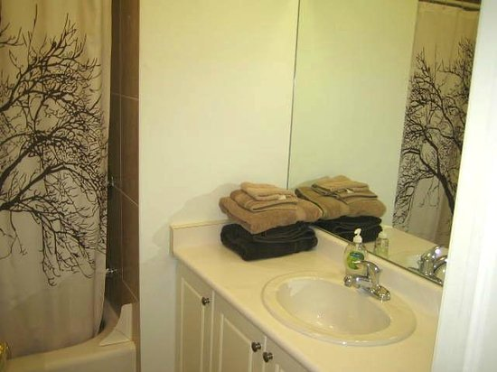 Clinton and Bloor B&B : Sunset Suite  bathroom