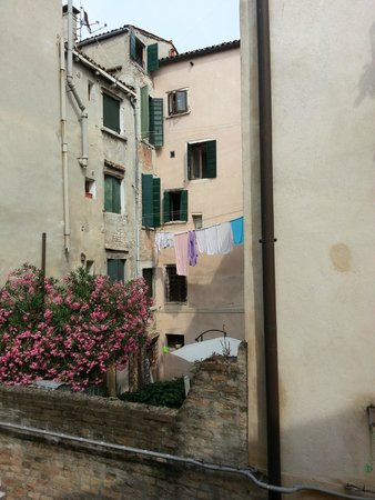 Al Palazzetto: Picturesque view with river below