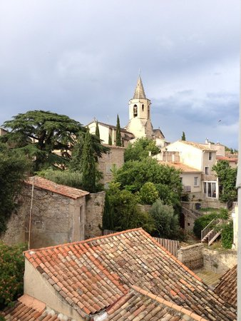 Chateau de Mazan: We had a less expensive room and the view was wonderful!