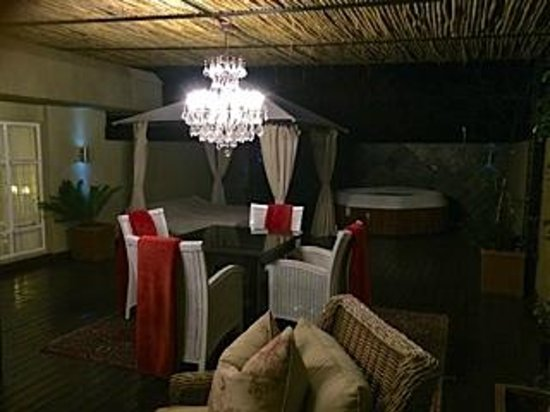 The Residence Boutique Hotel: Madiba Suite deck