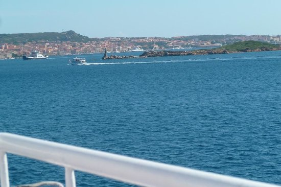 Traghetti Delcomar: Vue du bateau