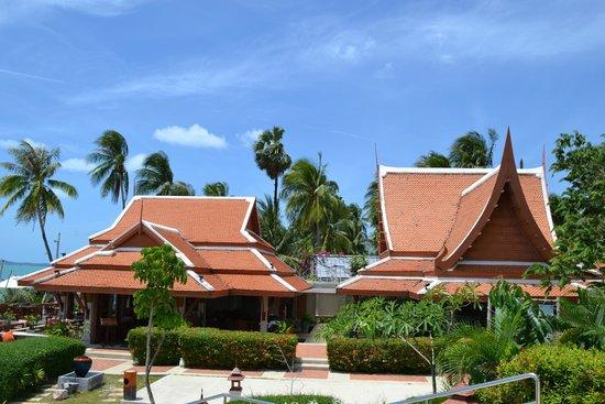 Samui Buri Beach Resort : vue