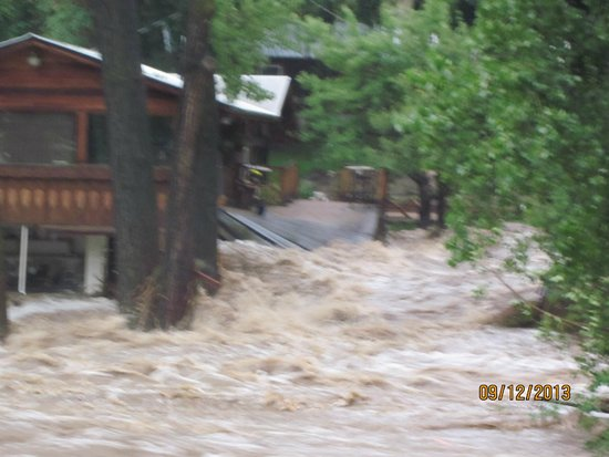 Ciatano's Winery: Sept2013flood1