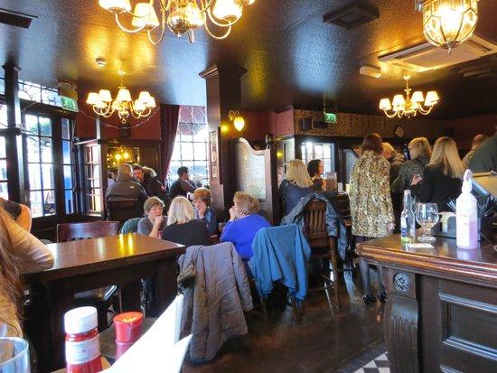 Bag O' Nails: Interior do pub