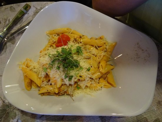 Cemodans: Penne and wild mushrooms