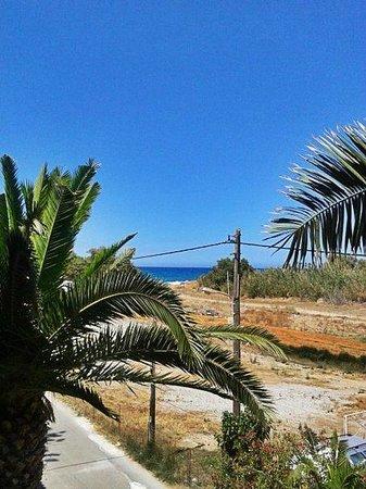 Creta Residence : вид с балкончика