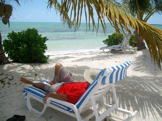 Swain's Cay Lodge : Pure relaxation!