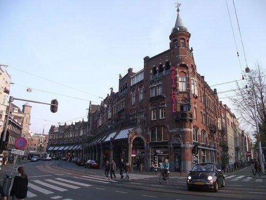 The Jordaan: Fachada do Nadia Hotel, no bairro Jordaan,