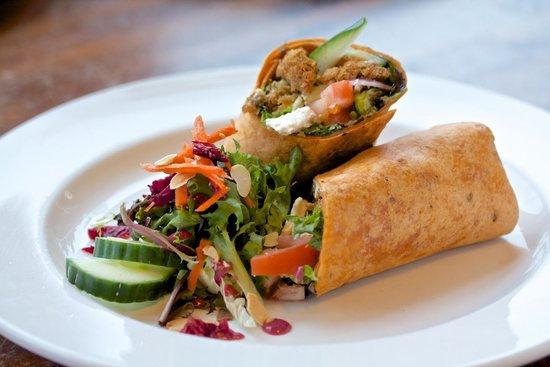 Stickleback West Coast Eatery : Hippie Wrap