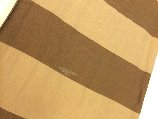 Ramada Chennai Egmore: dirty bedcover